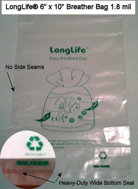 LongLife 6 x 10 Breather Bag